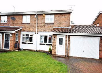 Thumbnail 2 bed semi-detached house for sale in Gorleston Way, Blakeney Wood, Sunderland