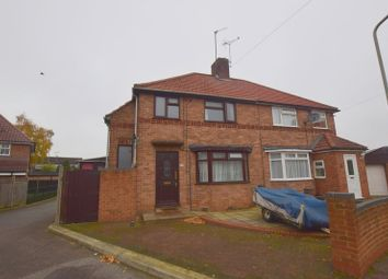 Thumbnail 3 bed semi-detached house for sale in Saffron Street, Bletchley, Milton Keynes