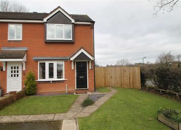 Thumbnail 2 bed end terrace house to rent in Leabank Close, Herongate, Shrewsbury
