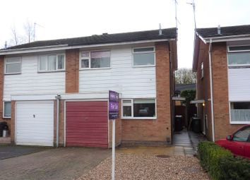 Thumbnail 3 bedroom semi-detached house for sale in Donnington Close, Redditch