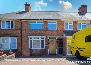 Thumbnail Terraced house for sale in Court Oak Road, Harborne