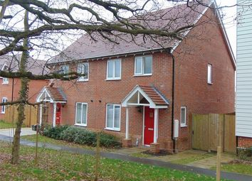 Thumbnail 3 bed semi-detached house to rent in Clover Rise, Woodley, Reading, Berkshire