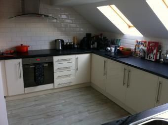 Thumbnail 3 bed flat to rent in Scotter Road, Scunthorpe