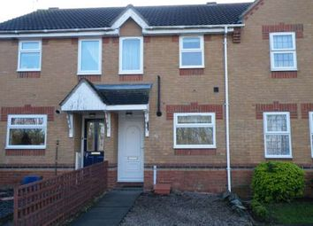 Thumbnail 2 bed terraced house to rent in Curlew Grove, Stanground, Peterborough