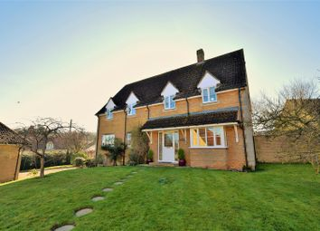 Thumbnail 4 bed detached house for sale in Bertie Close, Swinstead, Grantham
