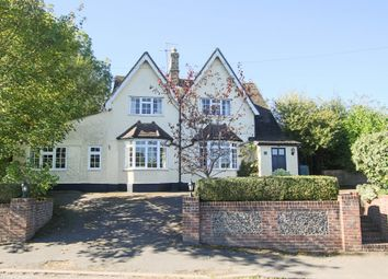 Thumbnail 5 bed detached house for sale in Fowlmere Road, Heydon, Royston