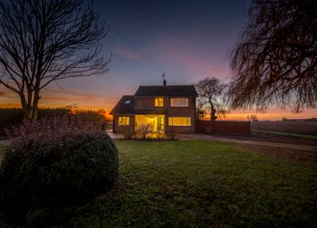 Thumbnail 4 bed detached house for sale in Hassock Hill Drove, Gorefield, Wisbech, Cambridgeshire