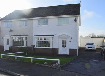 Thumbnail 3 bed semi-detached house for sale in Eastlands Park, Bishopston, Swansea