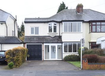 Thumbnail 5 bed semi-detached house for sale in Lindridge Road, Sutton Coldfield