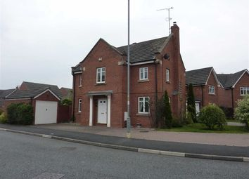 Thumbnail 4 bed detached house to rent in Hawksey Drive, Stapeley, Nantwich