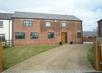 Thumbnail 4 bed detached house to rent in Cowbrook Lane, Gawsworth, Macclesfield
