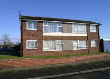 Thumbnail 1 bed flat for sale in Lesbury Avenue, Stakeford