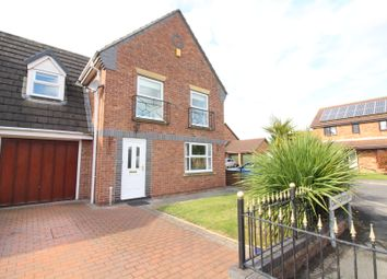 Thumbnail 4 bed link-detached house for sale in Carlton Court, Howden, Goole