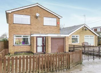 Thumbnail 3 bed detached house for sale in Keats Lane, Earl Shilton, Leicester
