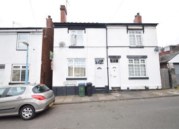 Thumbnail 3 bed terraced house for sale in Queen Street, Wednesbury, West Midlands