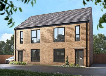 """Thumbnail 3 bed semi-detached house for sale in """"The Ellesmere"""" at East Bank Road, Sheffield"""