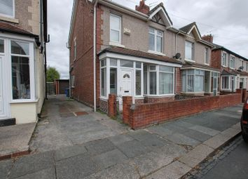 Thumbnail 3 bed semi-detached house for sale in Plessey Avenue, Blyth