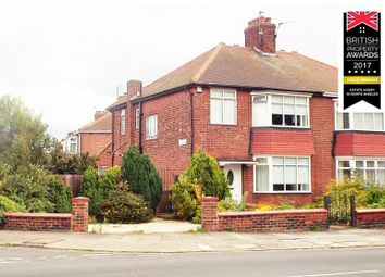 Thumbnail 3 bed semi-detached house for sale in Hawkeys Lane, North Shields