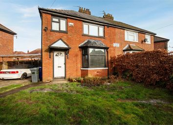 Thumbnail 3 bed semi-detached house for sale in Pulford Avenue, Manchester