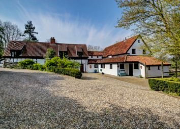 Thumbnail 6 bed detached house for sale in Wash Lane, Forncett St Peter, Norfolk