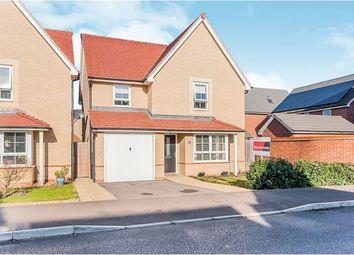 Thumbnail 4 bed detached house for sale in Howegate Drive, Hampton Vale, Peterborough, Cambridgeshire