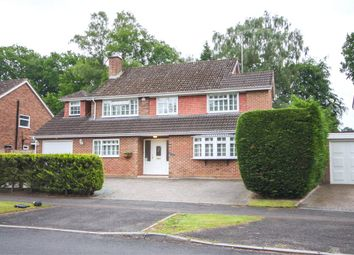 Thumbnail 4 bed detached house for sale in Tavistock Road, Fleet