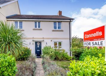 Thumbnail Semi-detached house for sale in Sherbourne Drive, Old Sarum, Salisbury
