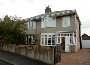 Thumbnail 3 bed semi-detached house to rent in Boscombe Avenue, Heysham, Morecambe