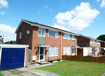 Thumbnail 3 bed semi-detached house to rent in Verity Crescent, Poole