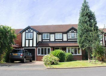 Thumbnail 5 bed detached house to rent in Hollington Way, Shirley, Solihull