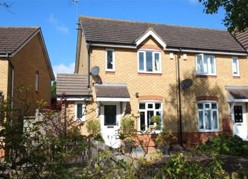 Thumbnail 2 bed end terrace house for sale in Swallow Close, Brackley, Northamptonshire