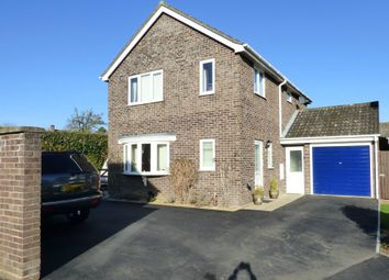 Thumbnail 4 bed detached house for sale in Woodland Rise, Tasburgh, Norwich