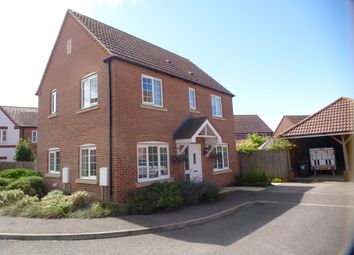 Thumbnail 3 bedroom detached house for sale in Benstead Close, Heacham, King's Lynn