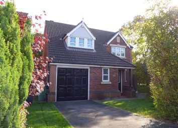 Thumbnail 4 bed detached house for sale in Caernarfon Close, Thornton-Cleveleys