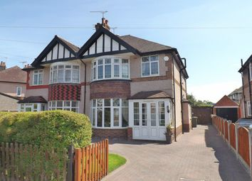Thumbnail 4 bed semi-detached house for sale in Parkfield Drive, Whitby, Ellesmere Port