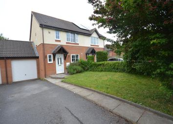 Thumbnail 3 bed semi-detached house for sale in Oak Close, Exminster, Exeter, Devon