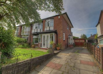 Thumbnail 3 bed semi-detached house for sale in Spinney Road, Baguley, Manchester