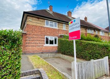 Thumbnail 2 bed semi-detached house for sale in Bangor Street, Chaddesden, Derby