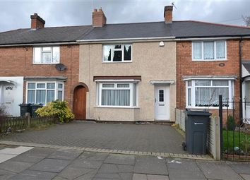 Thumbnail 3 bed terraced house to rent in Sidcup Road, Kingstanding, Birmingham