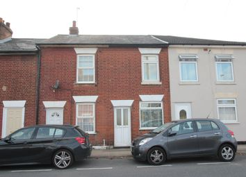 Thumbnail 2 bed terraced house to rent in Land Lane, East Hill, Colchester