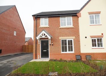 Thumbnail 3 bed semi-detached house to rent in George Crawford Road, Crewe
