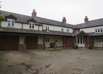 Thumbnail 4 bed detached house to rent in Darland Lane, Rossett, Wrexham