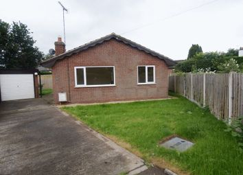 Thumbnail 3 bed detached bungalow for sale in Chester Road, Rossett, Wrexham