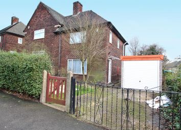 Thumbnail 2 bed semi-detached house for sale in Gordon Road, Thorneywood, Nottingham