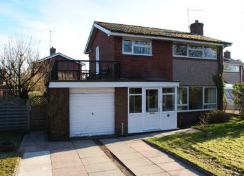 Thumbnail 4 bed detached house for sale in Milton Drive, Market Drayton