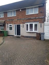 Thumbnail 3 bed end terrace house to rent in Dalewood Road, Birmingham
