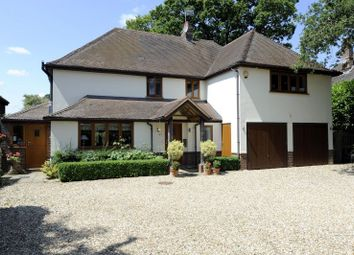 Thumbnail 4 bed detached house for sale in Firs Lane, Shamley Green, Guildford