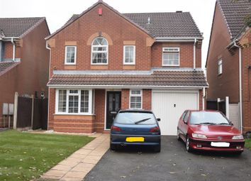 Thumbnail 4 bed detached house for sale in Paradise Close, Moira, Swadlincote
