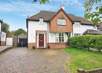 Thumbnail 3 bed semi-detached house for sale in Blue Cedars, Warren Road, Banstead