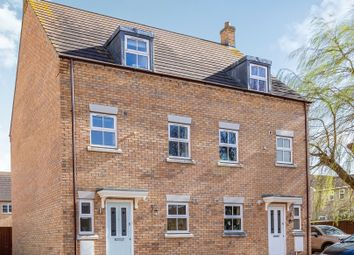 Thumbnail 3 bedroom town house for sale in Lester Way, Littleport, Ely